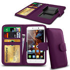 For Oukitel k4000 - Clamp Style PU Leather Wallet Case Cover