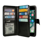 For Apple iPhone 8 / iPhone 7 4.7  Flap Card Holder Magnetic Wallet Cover Case