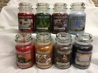 YANKEE CANDLE Large 22 oz Jar Candles U PICK Single Wick HOLIDAY, WINTER Scents