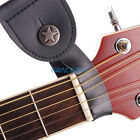 Genuine Leather Guitar Strap Button Holder Acoustic Strong Metal Fastener folk