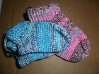 Handmade Crocheted Children Socks 3 - 6 months Unisex