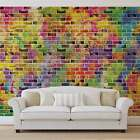 WALL MURAL PHOTO WALLPAPER XXL Bricks Multicolour (3469WS)