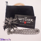 The Witcher 3 Wild Hunt Wolf Pendant Necklace With Bag UK Stock