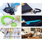 GPS Phone Case Lobster Hook Spring Stretchy Coil Safety Strap Rope Cord Line