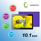 """KOCASO® 10.1"""" Android 6.0 Tablet 16GB Quad Core Bluetooth WiFi GMS"""