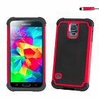 Shockproof Case Cover for Samsung Galaxy S Phones + Screen Protector & Stylus