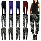 Women Ladies Plain Hareem Printed Tie Dye Ali Baba Stretch Tapered Trouser Pant