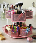 Nifty Cosmetic Carousel Holder Makeup Organizer Mascara Nail Polish Tweezer Rack