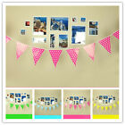 8.2ft 2.5 M Polka Dot Style Flag Banner Birthday Wedding Party Events Decoration