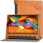 Luxury PU Leather Flip Case Cover For Lenovo Yoga Tab 3 Plus YT-X703F+Film