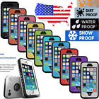 Durable Waterproof Shockproof Dirtproof DustProof Case For Apple iPhone 5 5S 5C