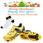 Yellow Cycling Mountain Bike Bicycle Professional Shoes Breathable Lock-slip TPU