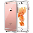 JETech Case for iPhone 6s 6 Shock-Absorption Bumper Cover HD Clear Back