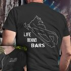 Внешний вид - LIFE BEHIND BARS snowmobile t shirt tshirt tshirts shirts skidoo yamaha polaris