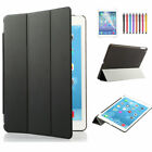 Luxury PU Leather Magnetic Wake Case Cover Smart Stand Back for Apple iPad lot