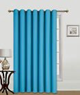 1 ROOM DIVIDER PANEL CURTAIN SOLID UNLINED ECLIPSE BLACKOUT DRAPE TREATMENT K100