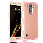 For LG K10 / Premier LTE Case Hybrid Armor Shockproof Rubber Hard Defender Cover