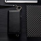 Zipper Leather Credit Card Holder Wallet Flip Case Cover For iPhone 8 6S 7 Plus