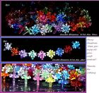 90 CANDLE Blossom CHOICE 9 colors Ceramic Christmas tree light top bulb twist  image