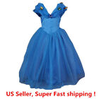 Cinderella Princess Butterfly Party Dress kids Costume Dress for girls 2-10 Y фото