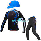 Yokgo DS Men Cycling Long-sleeved Jersey&4D Bike Padded Pant Suits Bicycle Sets