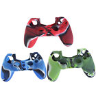 Camouflage Silicone Case Skin Grip Cover For Playstation 4 PS4 Controller TY