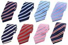 Classic Design Striped Silk Ties