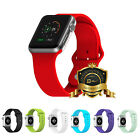 JETech® 38 / 42mm Apple Watch Band Soft Silicone Replacement Sport Bracelet Band