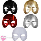 PHANTOM HALF FACE MASKS VENETIAN MASQUERADE BALL HALLOWEEN FANCY DRESS MASK