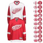 2016 17 Detroit Red Wings REEBOK Premier Team Player Jersey Collection Mens