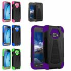 Shock Proof Rugged Armor Hybrid Hard Case Stand Cover For Samsung Galaxy E5