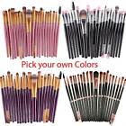 20pcs makeup brushes kit set powder foundation
