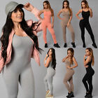 Womens Jumpsuit Playsuit Sports Wear Pants Sports/Training/Gym/Run/Yoga Leggings