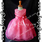 SPF8 Baby Girl Wedding Formal Pageant Cocktail Prom Birthday Sequin Summer Dress