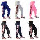 Women's Ladies Cool Story Bro Printed Sports Joggers Tracksuit Bottom Pants 8-14