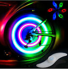 2XBike Bicycle Motorcycle Wheel S Spoke Wire Tyre LED Flash Light Lamp Reflector