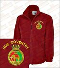HMS COVENTRY T22 Crested Embroidered Fleeces