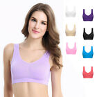 NEW Seamless Comfy Bra Sports Style Crop Tops Plus Size U-Back Bra Lingerie HOT