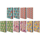HEAD CASE DESIGNS WHIMSICAL FLOWERS LEATHER BOOK CASE FOR APPLE iPAD MINI 1 2 3