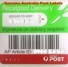 Signature On Delivery Receipted Label Australia Post Tracking