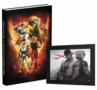 STREET FIGHTER V STRATEGY GUIDE PLAYSTATION 4 COLLECTOR'S New SEALED Hardcover