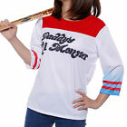 Cosplay Costume Donna Maglietta Suicide Squad Harley Quinn T-shirt