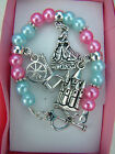 Disney Bead Charm Brace-let and connector 5 in