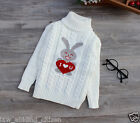 Baby Sweater Pullover Warm Winter Kids Girl Boy Knitted Children Size 3T-5T