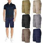 New Mens Chino Elastic Waist Slim Fit Shorts Cotton Casual Frayed Hem Half Pant