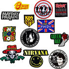 Sex Pistols The Beatles Elvis Nirvana Bowie  Parade Iron Patch Rock Music Metal