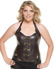 Mystery House Womens Plus Size Steampunk Corset -Style # C1232W