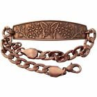 Solid Copper Bracelet Butterfly Swallowtail Handmade Jewelry Gift Arthritis Pain