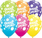 """Qualatex Good Luck Dots 11"""" Bright Colour Party Balloons for Helium or Air"""