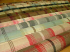 Porter & Stone Balmoral Wool Effect Washable Tartan Curtain Upholstery Fabric